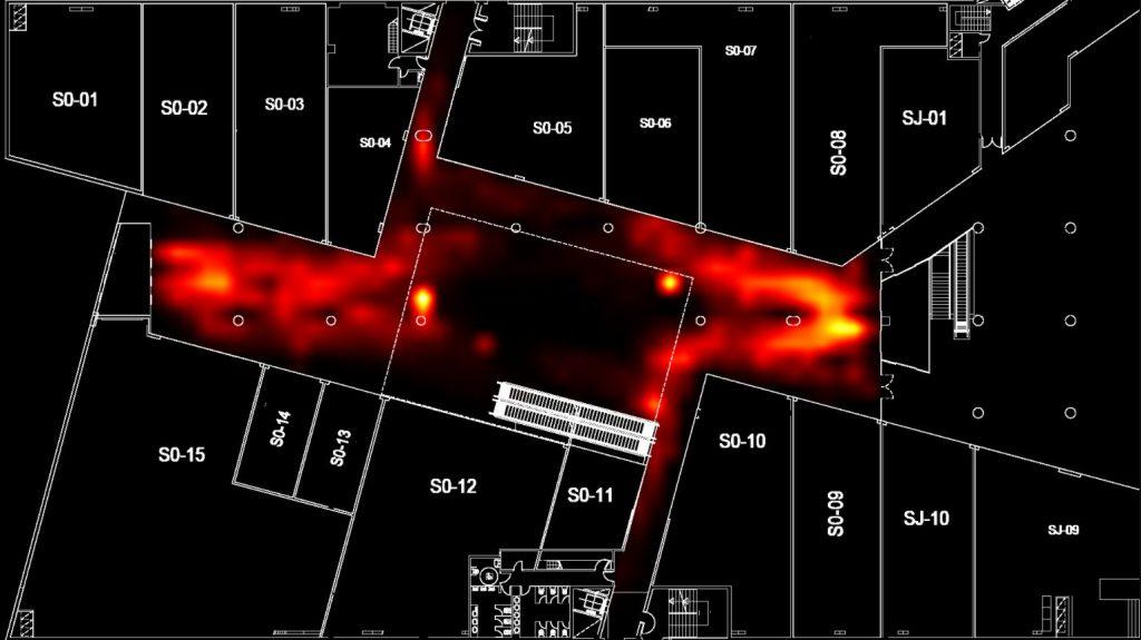 Shopping Center Heatmap